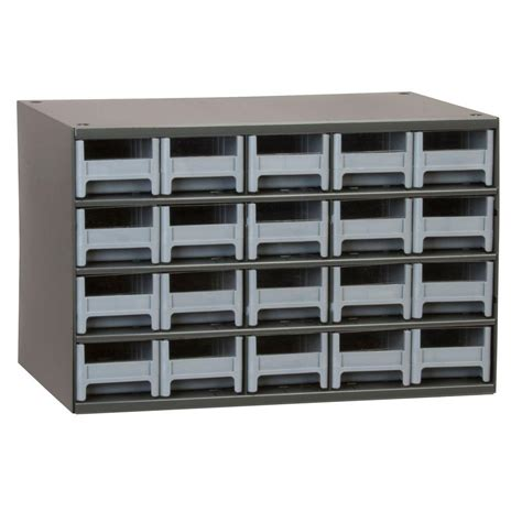 Metal Storage Drawers Cabinets by Akro Mils 20 Drawer Small Parts Steel Cabinet 19320 The