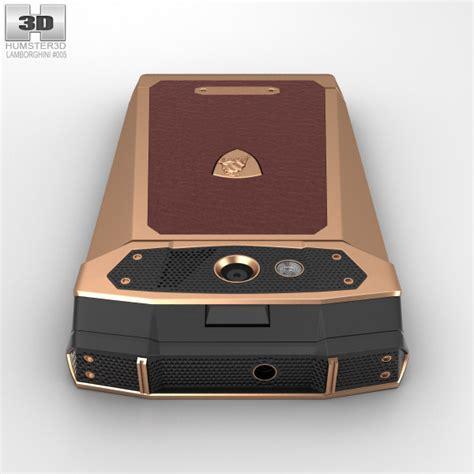 Lamborghini Tonino Brown Rosegold tonino lamborghini antares gold brown leather 3d