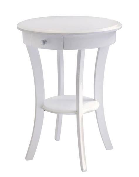 round accent table with drawer round accent table with drawer in side tables