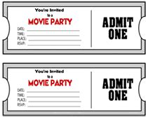 cinema ticket template word gallery template design ideas printable movie ticket theme party invitations templates