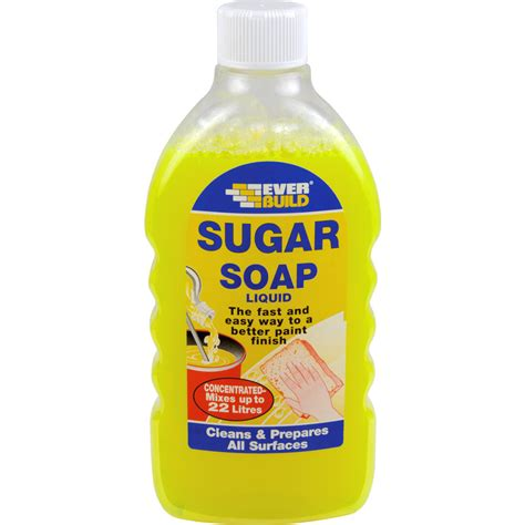 sugar soap liquid 500ml toolstation