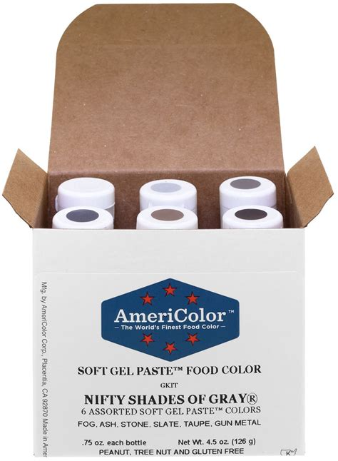 gray food coloring food coloring americolor student kit 3 12
