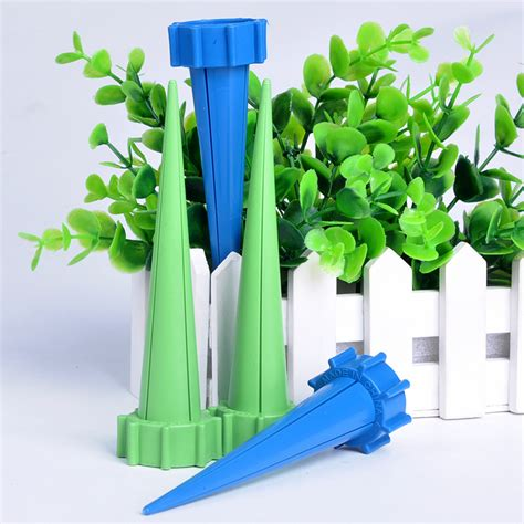 Automatic Watering Irrigation Plant Waterer 4 Pcs Kepala Semprot Air 4pcs set diy automatic plant waterer accessories water seepage device for potted plant self