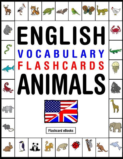 vocabulary picture book smashwords vocabulary flashcards animals a