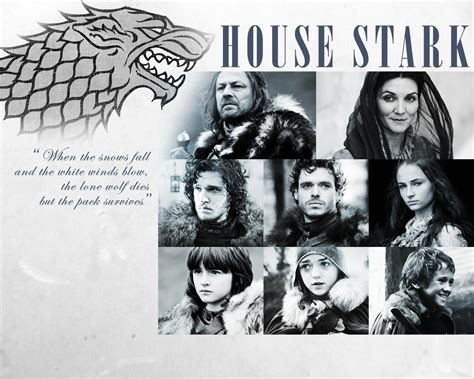 House Of Stark by House Stark Wallpapers Wallpaper Cave