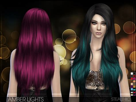 vanity female hair by stealthic at tsr sims 4 updates amber lights female hair by stealthic at tsr 187 sims 4 updates