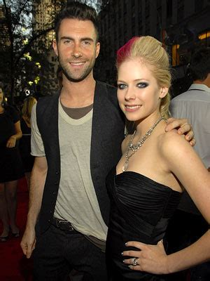 Adam Brodys Funky by At Fashion Rocks Avril Lavigne Adam Levine And