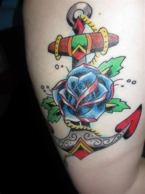 tattoo color history 17 best images about anchor tattoos in color on pinterest