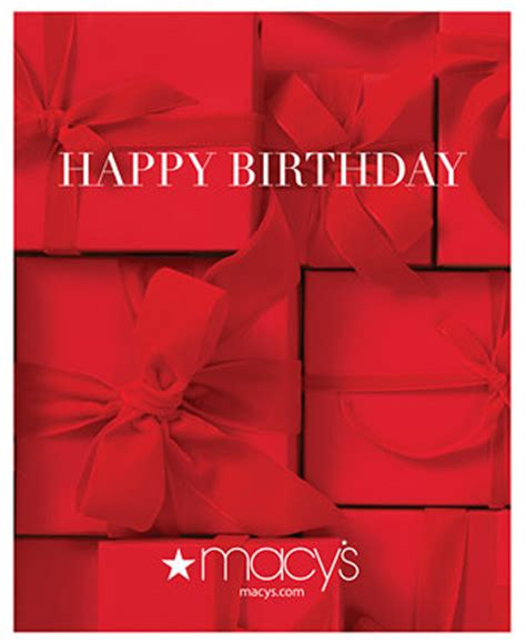 E Gift Cards Macy S - birthday presents e gift card all occasions gift cards macy s