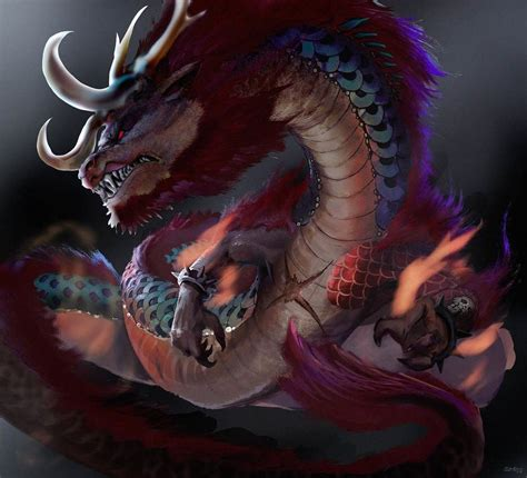 kaido dragon form wallpaper