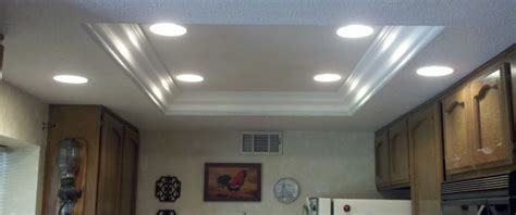 How To Change Out Fluorescent Light Fixture Replacing Recessed Fluorescent Lights With Led Lighting Ideas