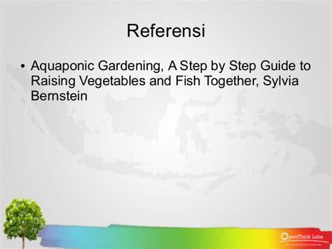 Appeton Untuk Manula belajar bareng aquaponik aquaponik gardening 0