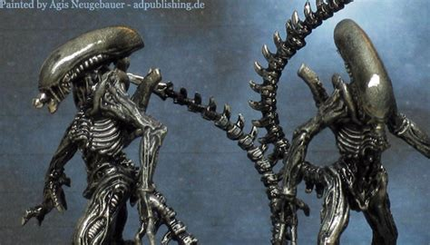 xenomorph paint agis page of miniature painting and gaming avp