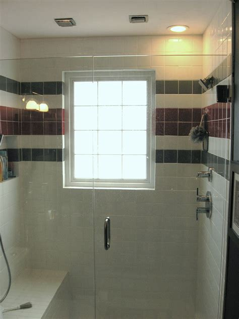 bathroom showers with windows bathroom windows in shower which is best