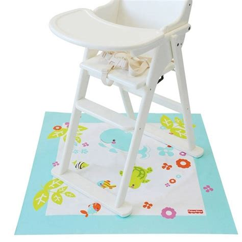 Floor Mat Baby Feeding baby toddler highchair splash mat baby feeding floor mess