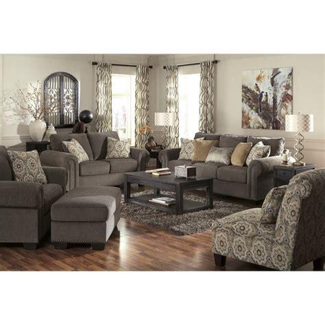 chenille sofa set ashley emelen 5 piece chenille sofa set in straw 45600