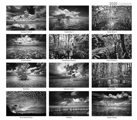 calendar clyde butcher black white fine art photography