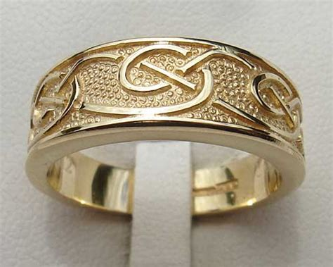 Handmade Celtic Wedding Rings - mens celtic wedding ring