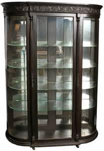 Curio Cabinet Large Large Mahogany Curio Cabinet Lot 44875