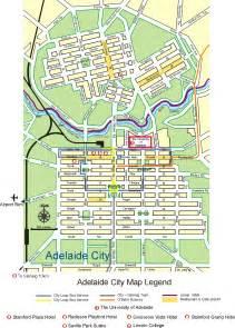 adelaide city map adelaide australia mappery