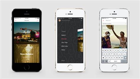 airbnb mobile airbnb identity website app 2014 redesign fonts in use