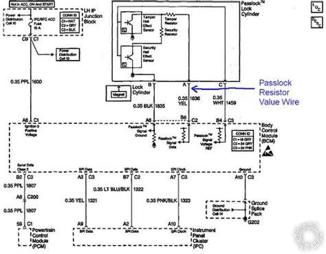 passlock 3 bypass diagram printer friendly forum posts 4206p 00 malibu guide