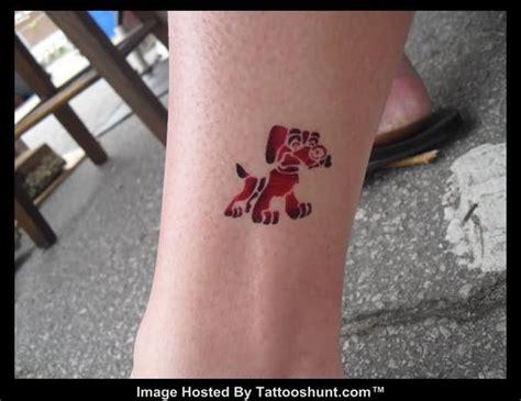 tattoo cartoon dog airbrush dog cartoon tattoo tattooshunt com