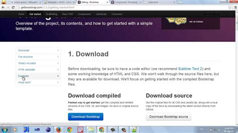 bootstrap tutorial video in tamil creating a mobile application using bootstrap in 6 steps