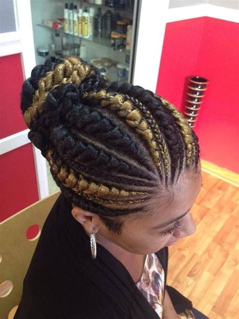 big cornrows styles large cornrow braid hairstyles plan