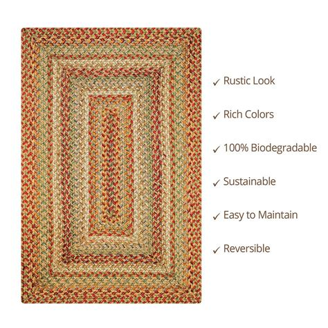 Orange Braided Rug by Orange Braided Rug Ehsani Rugs