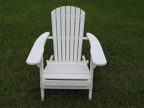 Adirondack Chair White by Sold Out Deluxe White Cedar Adirondack Folding Chair