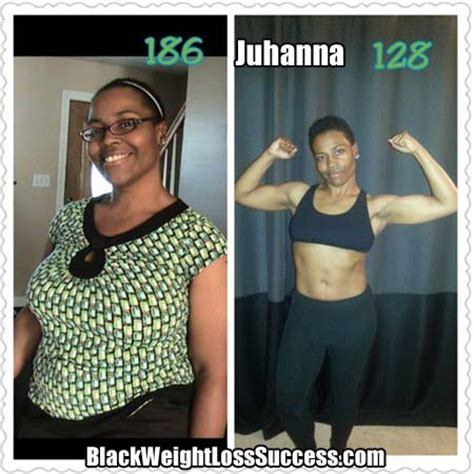 weight loss 60 pounds juhanna lost 60 pounds black weight loss success