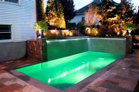 eye catching cool modern house with swimming pool closed 27 best pool landscaping on a budget homesthetics images