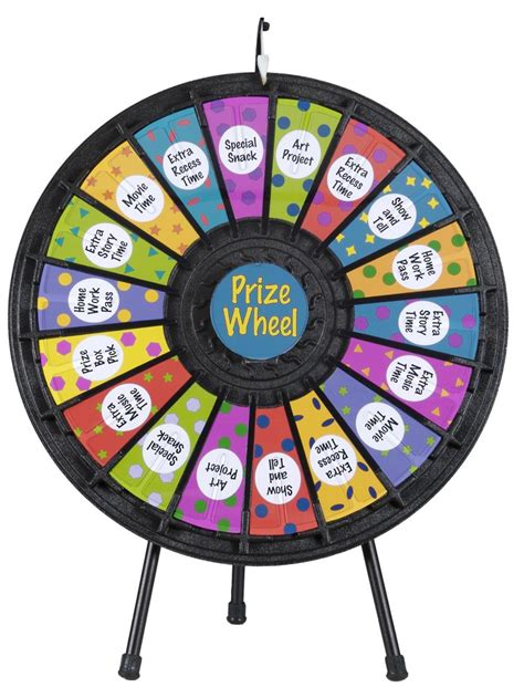 prize wheel  slot  noisy clicker  printout slots
