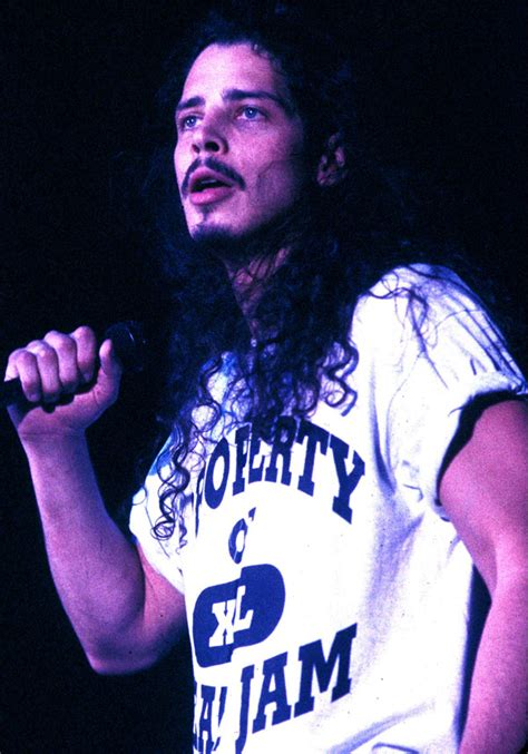 chris cornell wearing other seattle bands tee shirts