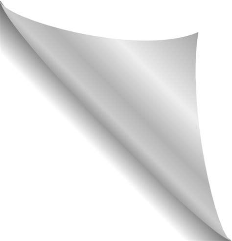 Paper Corner Fold - paper 19 clip at clker vector clip