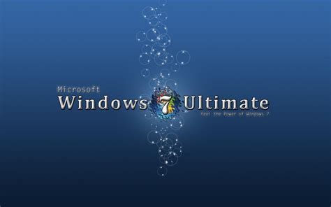 wallpaper for windows 7 ultimate free download blue windows 7 ultimate hd desktop wallpaper widescreen