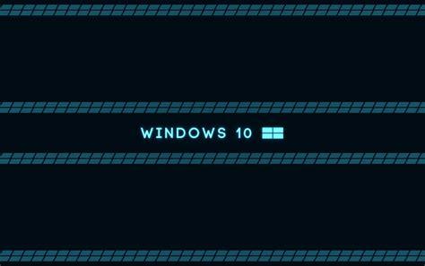 imagenes de microsoft windows 10 microsoft windows 10 os azul fondos de pantalla