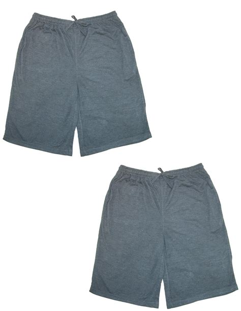 knit sleep shorts mens knit sleep shorts pack of 2 by ten west apparel