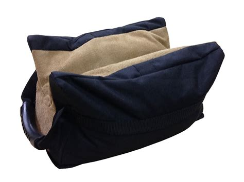 shooting bench bags benchmaster bench front shooting rest bag leather filled