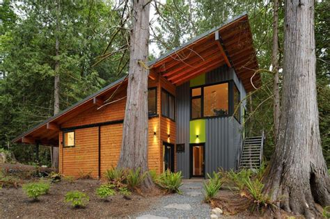 butterfly roof shed overhang exterior contemporary