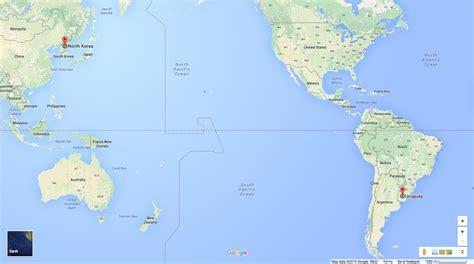 map usa to korea map of america and korea my