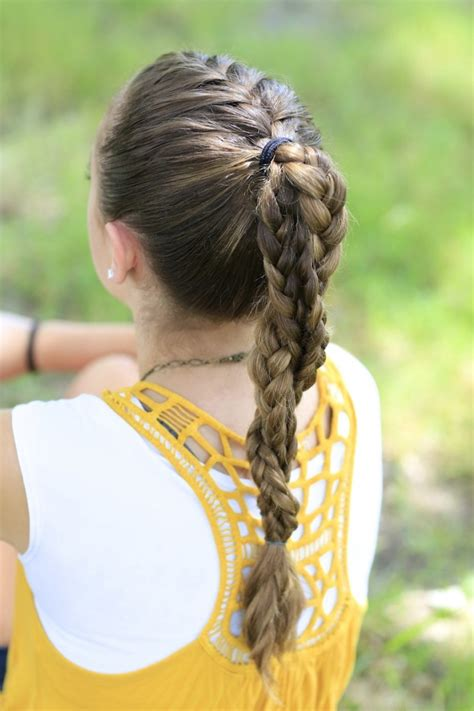 hair styles for a run the run braid combo hairstyles for sports cute girls