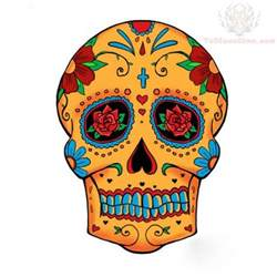 colorful sugar skull sugar skull images designs