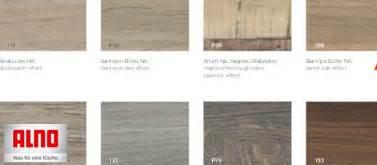 alno arbeitsplatten alno arbeitsplatten dekore holz auf ma 223 original
