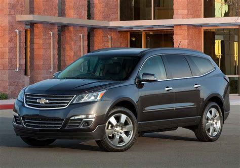 chevrolet traverse ls 2016 chevrolet traverse ls black color autocar pictures