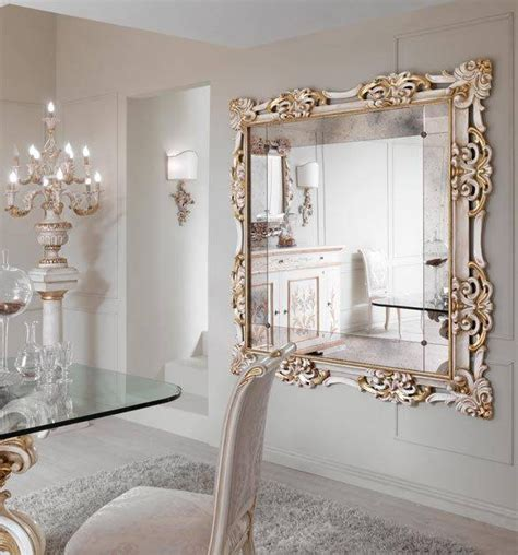 13 best home images on 15 best collection of large white framed wall mirrors