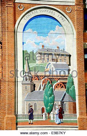 Painting Yonkers by Trompe L Oeil Mural Or Wall Painting Of Restaurant