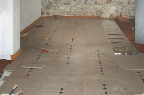 impianti a pavimento a secco riscaldamento a pavimento con posa a secco riscaldamento