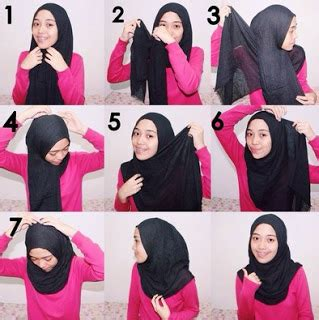 tutorial hijab segi empat wisuda simple maret 2017 ray chatdisini